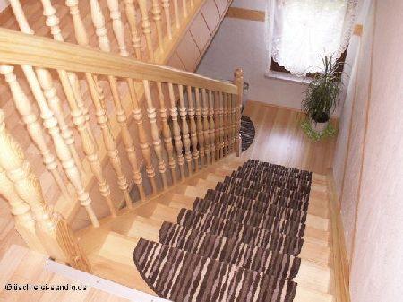 Treppe aus Kiefer